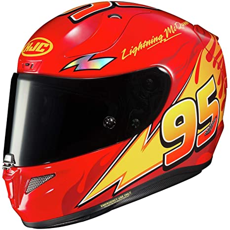 Amazon.com: Casco HJC RPHA 11 Pro - Rayo McQueen, M: Automotive