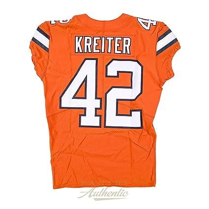 best sneakers 2b8ba 0b860 Casey Kreiter Game Worn Denver Broncos Jersey & Pant Set ...
