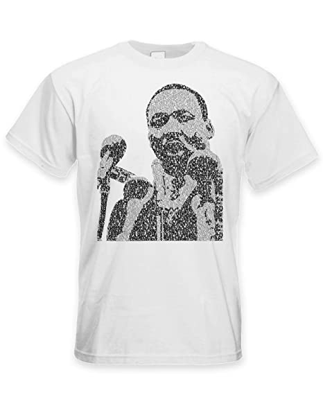 Amazon Com Tribal T Shirts Martin Luther King Microphone Design
