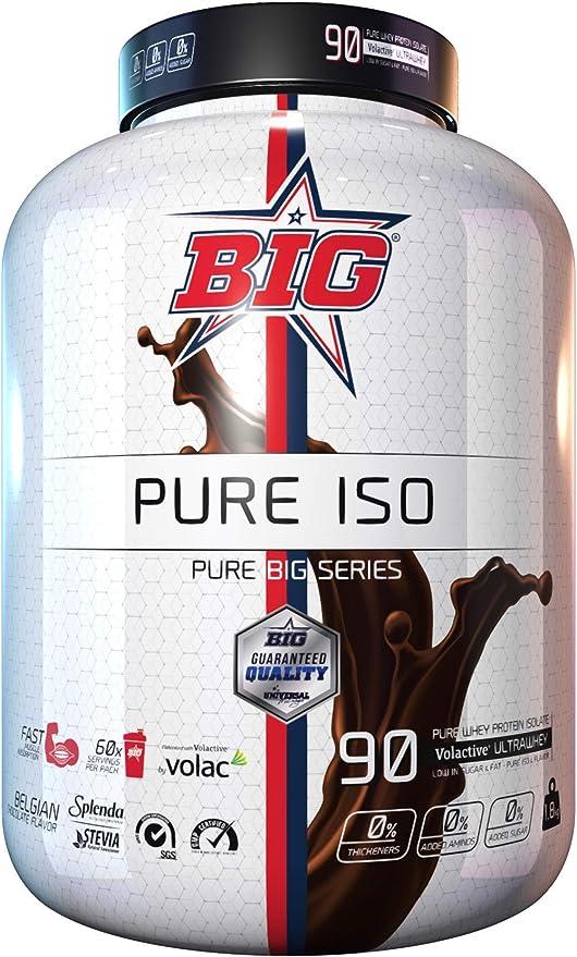 PURE ISO® aislado proteina Belgian Chocolate 1,8Kg