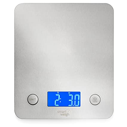 amazon com smart weigh 11 pounds or 5 kilograms digital