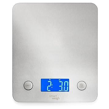 Smart Weigh Digitale Kuchenwaage Multifunktionale 5kg Aus