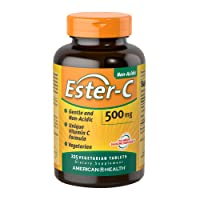 American Health Ester-C Vegetarian Tablets - 24-Hour Immune Support, Gentle On Stomach...