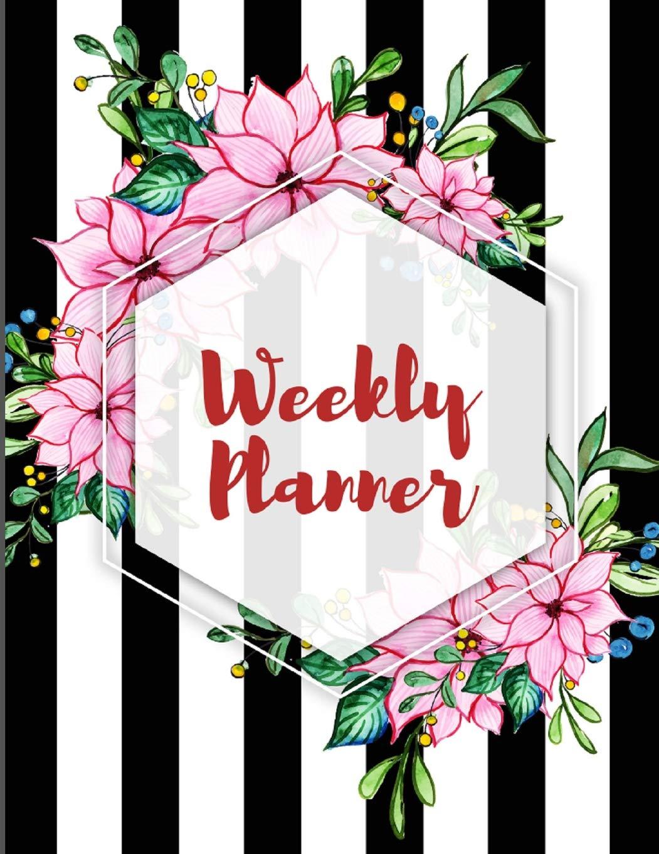 Weekly Planner: Calendar 2019-2020. Weekly Schedule ...