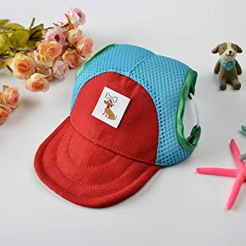 Pequeño Gorro de Lona para Mascotas Sombrero de Visera de béisbol ...