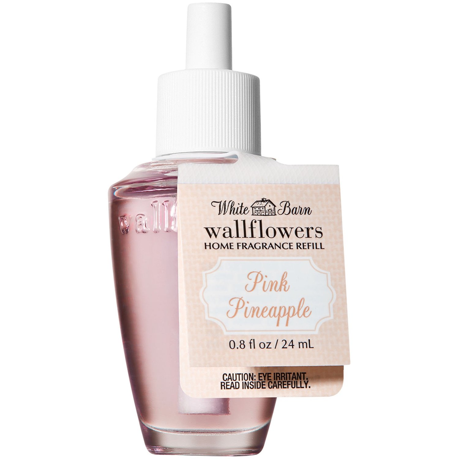 White Barn Bath and Body Works Wallflowers Refill NEW LOOK! (Pink Pineapple)