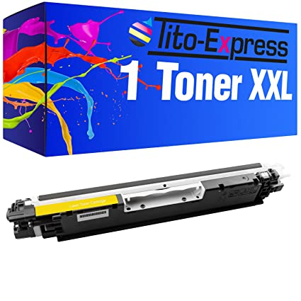 Tito-Express PlatinumSerie 1 Toner Compatible con HP CE312A Yellow ...