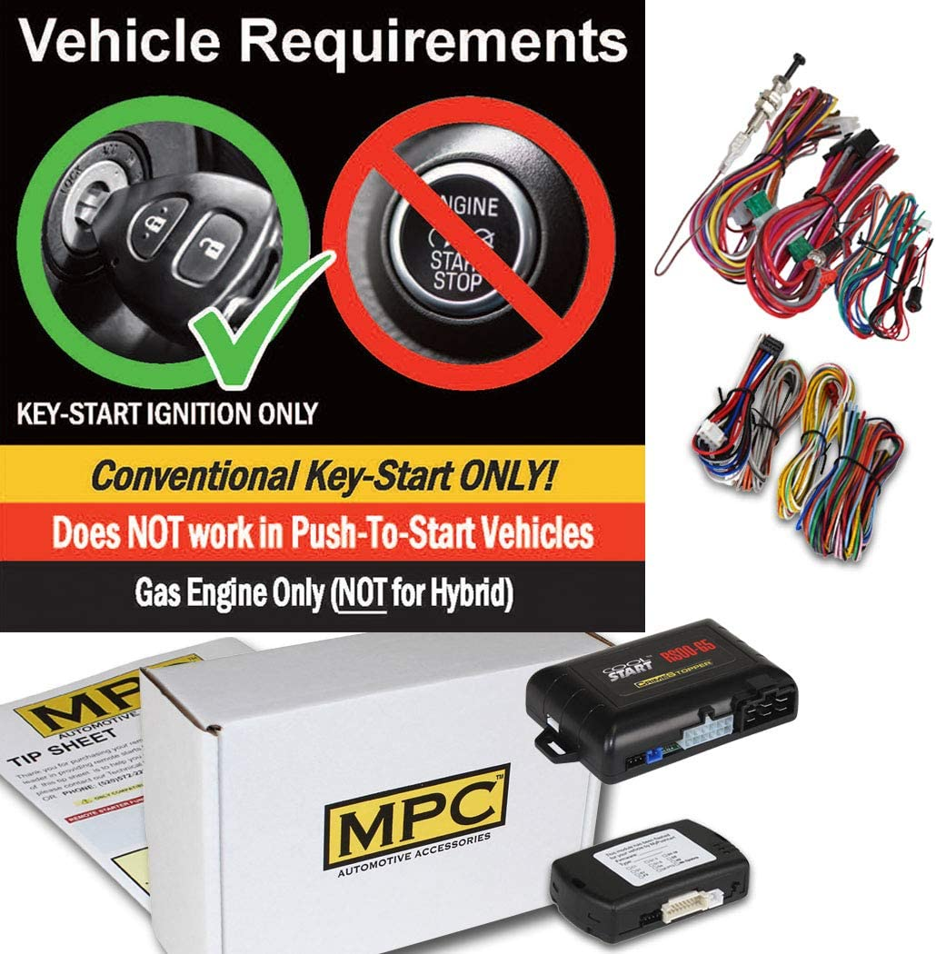 MPC Complete Add-on Remote Start Kit for 2011-2014 Honda Odyssey Uses Factory Remotes