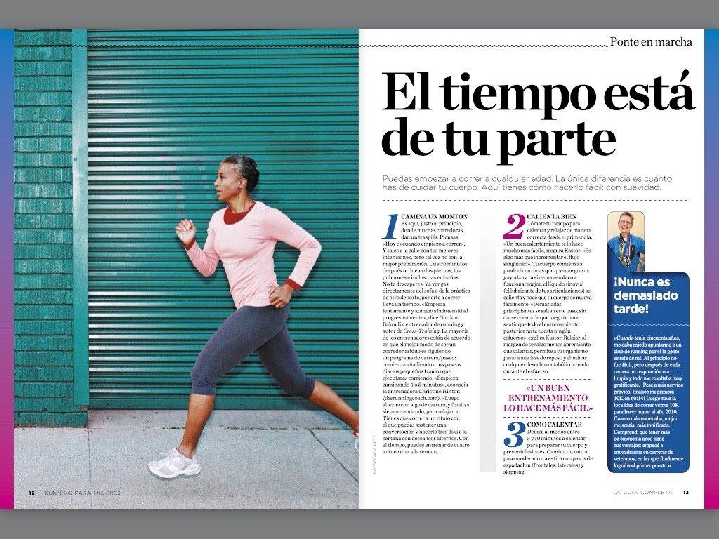 Running para mujeres Runners World : La guía completa: Amazon.es ...