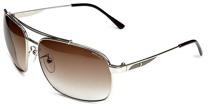 Police Square - Gafas de sol para hombre estilo aviador ...