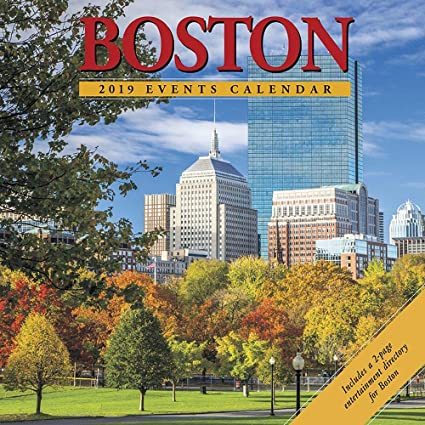 Boston Event Calendar 2019 Amazon.: Boston 2019 Wall Calendar : Office Products