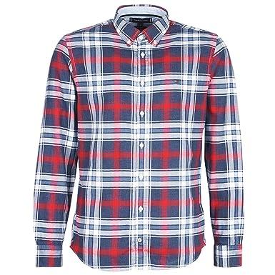 Tommy Hilfiger Herren Hemd Regular Fit Langarm  Amazon.de  Bekleidung 3213c50cdb