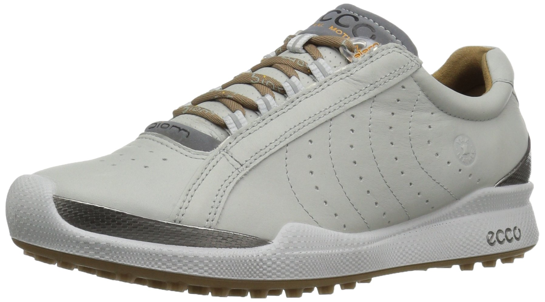ECCO Women's Biom Hybrid Hydromax II Golf Shoe, Concrete/Mineral, 37 EU/6-6.5 M US