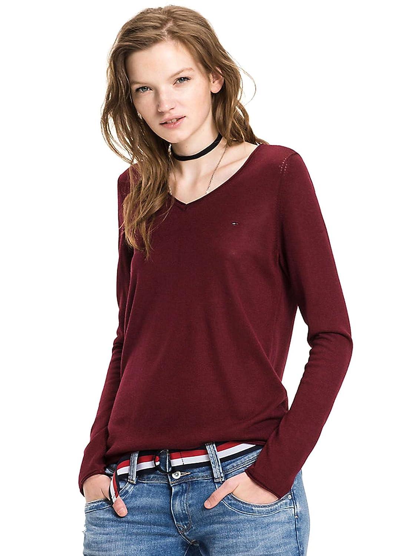 Tommy Hilfiger DW0DW02682 T-Shirt Frauen Rot L