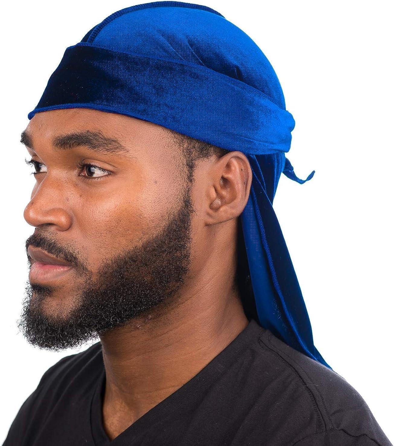 Black Money - Velvet Color Durag Premium Bandana for Men 360 Waves (All top Selling Colors) at ...