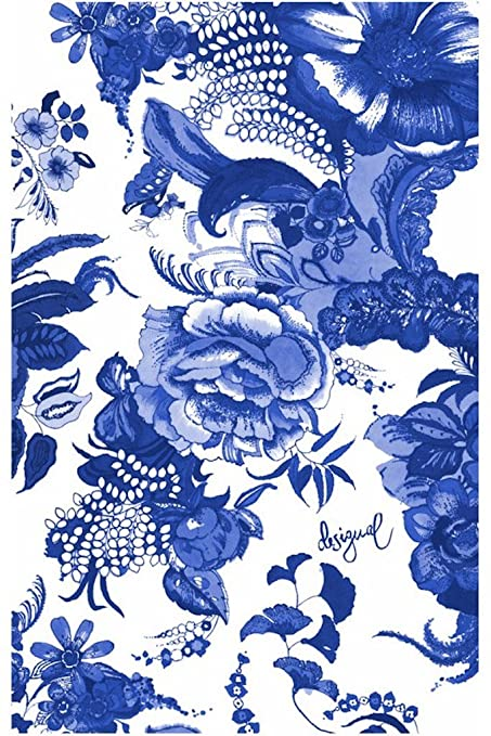Desigual – Toalla de playa – Beach Towel _ Think en Blue 18shwt01 – Colección 2018