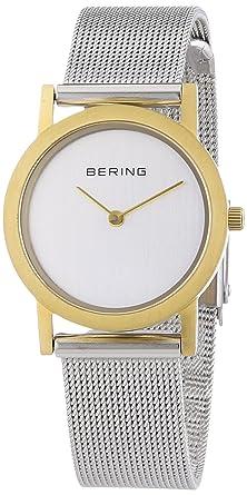 BERING Reloj Analógico para Mujer de Cuarzo con Correa en Acero Inoxidable 13427-010: Amazon.es: Relojes
