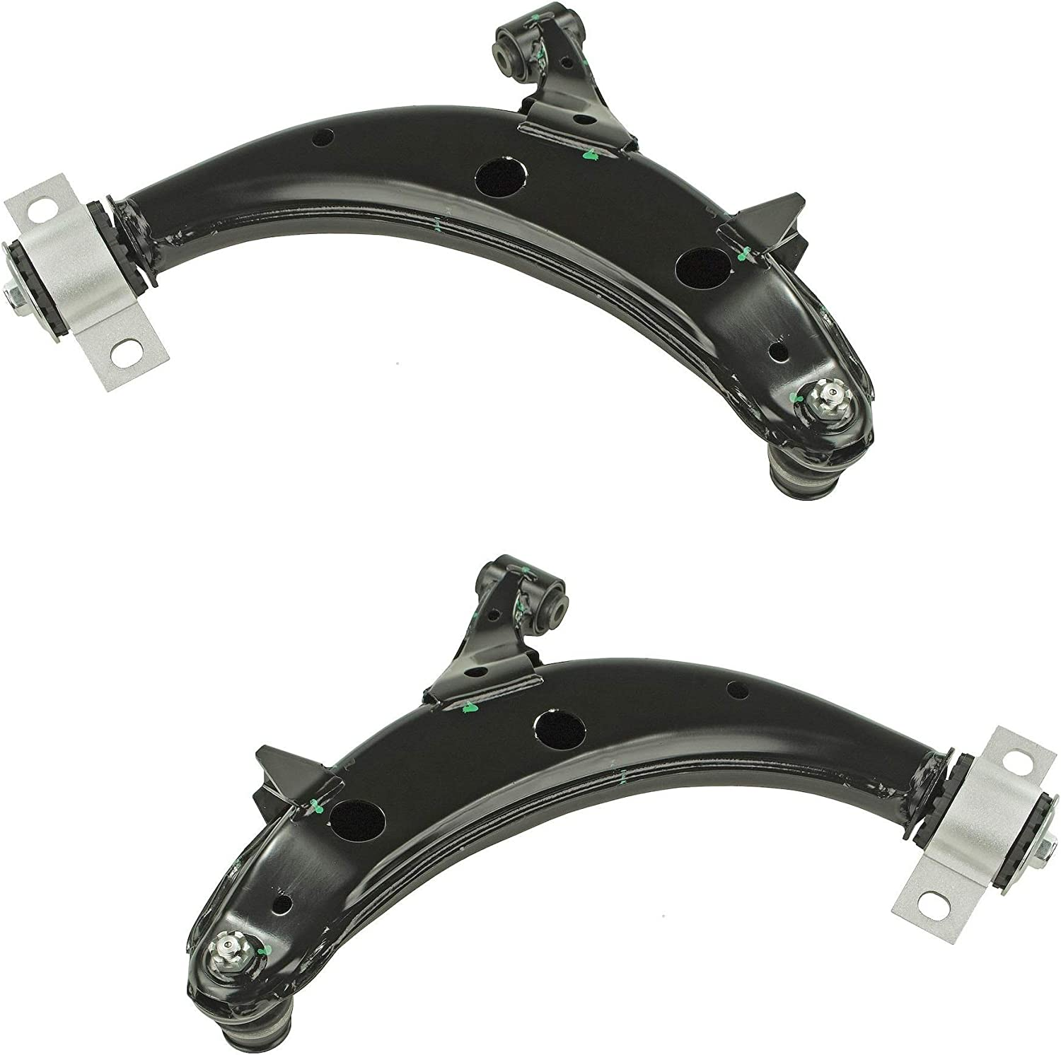 Pair Set 2 Front Lower Control Arms /& Ball Joints Mevotech For Subaru Forester