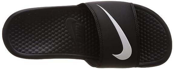 Nike Benassi Swoosh, Sandalias de Punta Descubierta para Hombre: Amazon.es: Zapatos y complementos