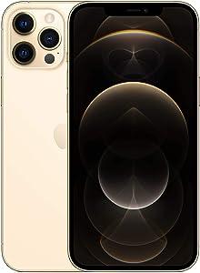 Apple iPhone 12 Pro Max, 128GB, Gold - Fully Unlocked (Renewed)
