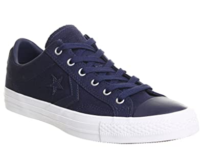 c21b0f579536 Converse Womens Star Player Ox Midnight Navy Canvas Trainers 9 US