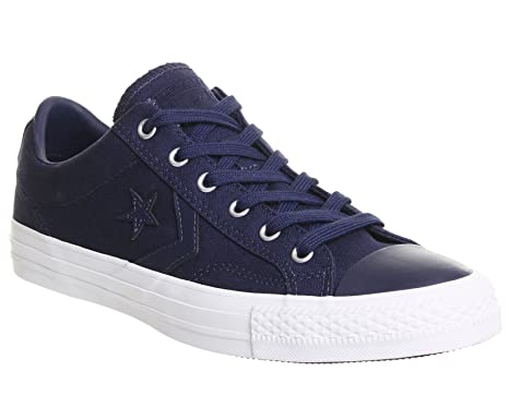 Converse Womens Star Player Ox Navy Canvas Trainers 39 EU OfUouwPld