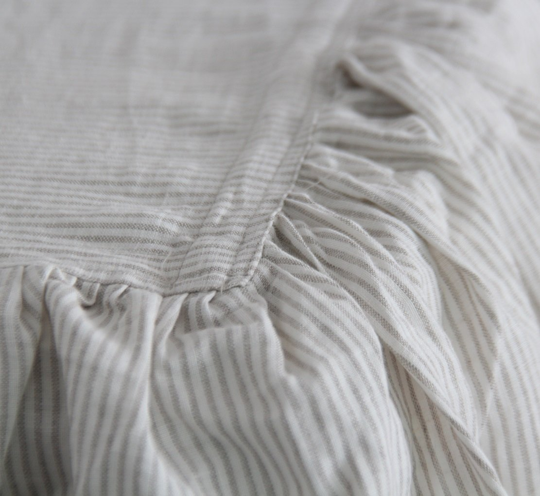 Queens House Linen Bed Spreads Bed Cover Linen Bedspread-King