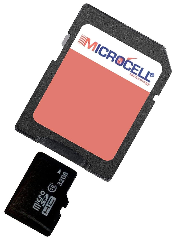 Microcell microSDHC Scheda di Memoria da 32 GB con Adattatore SD per Huawei P8 Lite 2017 yayago 4055047813669