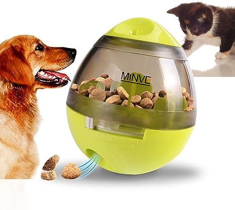 Pelota de comida para mascotas, de Minve, pelota de chuches para ...