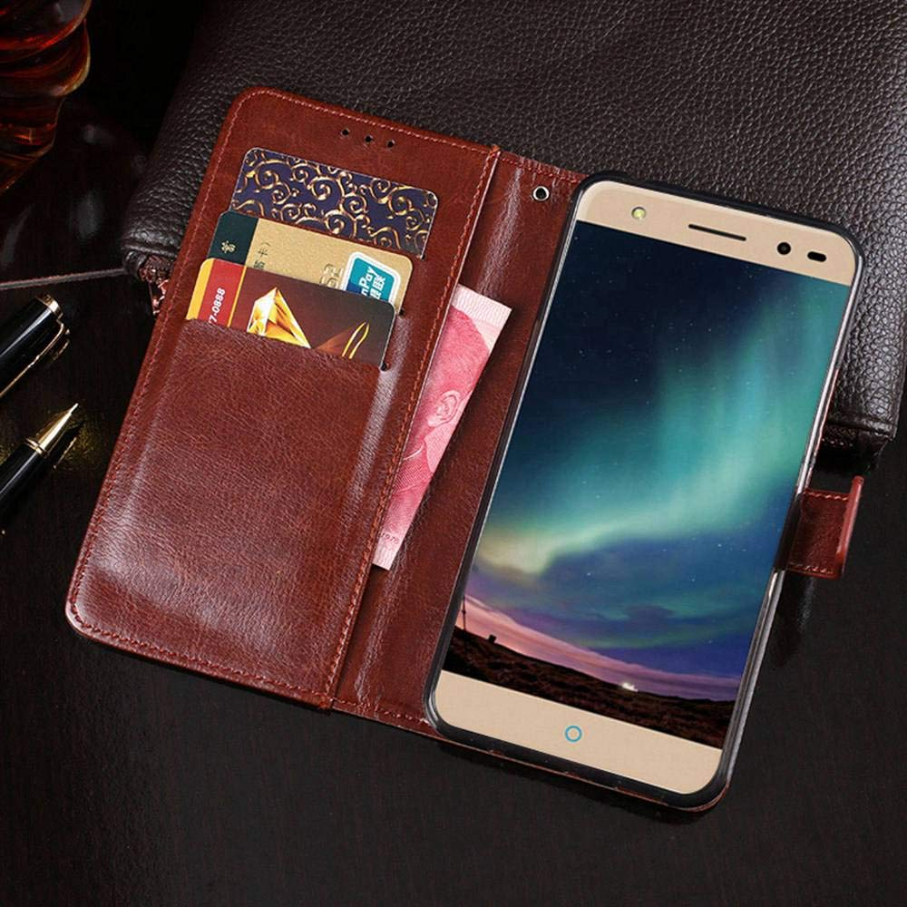 Amazon.com: Case for ZTE Blade V7 Lite, PU Leather Stand ...
