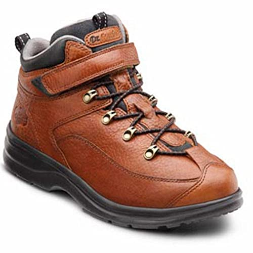 Dr. Comfort Vigor Women's Therapeutic Diabetic Extra Depth Hiking Boot: Chestnut 8.5 Medium (A-B) Lace
