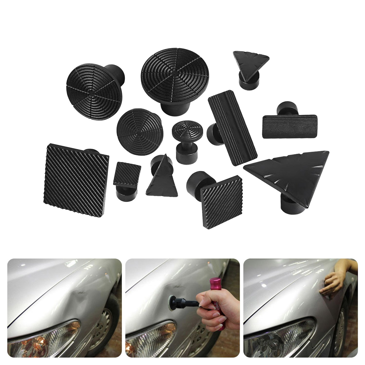 Super PDR 32Pcs New PDR Auto Car Body Dent Repair Removal Tools Dent Puller Suction Cup Dent Repair Kit by Super PDR (Image #7)