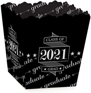 product image for Big Dot of Happiness Graduation Cheers - Party Mini Favor Boxes - 2021 Graduation Party Treat Candy Boxes - Set of 12