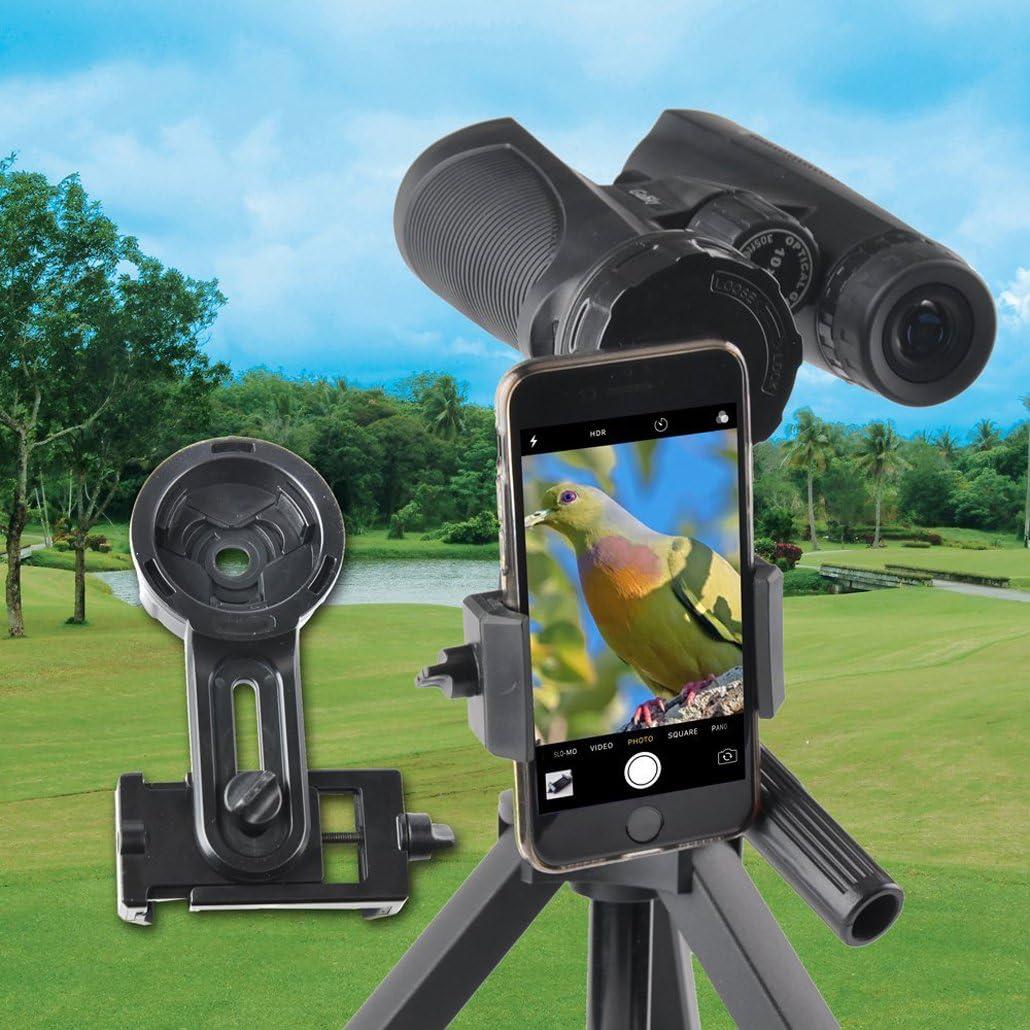 gosky prismáticos telescopio Smartphone Adaptador – rápido ...