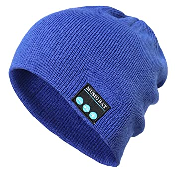 Men s Bluetooth Beanie Hat Cap Clearance- Iuhan Bluetooth Wireless Warm Beanie  Hat Handsfree Music Cap 699e17a0976