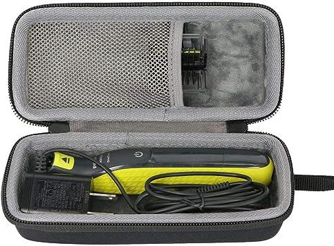 Duro Viajar Caso Cubrir para Philips OneBlade QP2530/30 QP2530/20 Recortador de barba por co2CREA (black): Amazon.es: Salud y cuidado personal