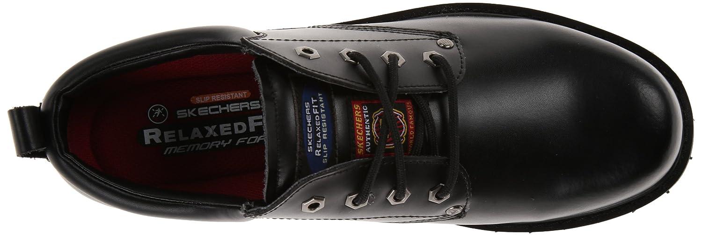 Skechers for Work Men's 77019 Cottonwood Fribble Slip Resistant Work Shoe 6pm SKECHERS Work Footwear RP