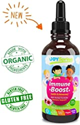 Organic Echinacea Drops for Kids - Kids Immune Booster to Avoid Getting Sick - Cold & Flu Defense for Toddlers - Liquid Childrens Immune Support to Stop Colds in Their Tracks, 1 oz