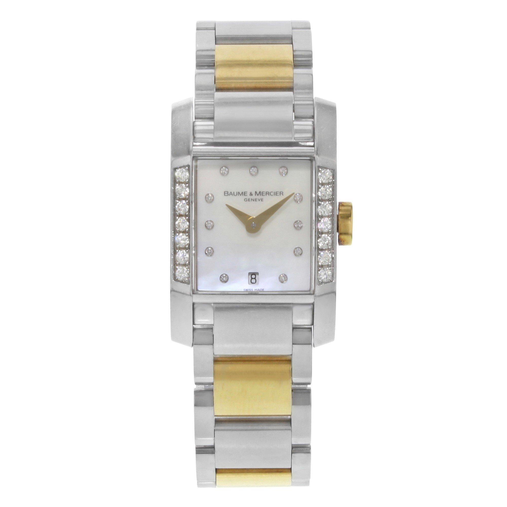 Baume & Mercier Deamant quartz womens Watch MOA08599 (Certified Pre-owned)