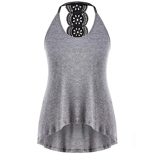 66ddd9efd17 Amazon.com  Wintialy Women Casual Plus Size Print T-Shirt Tank Tops Blouse   Clothing