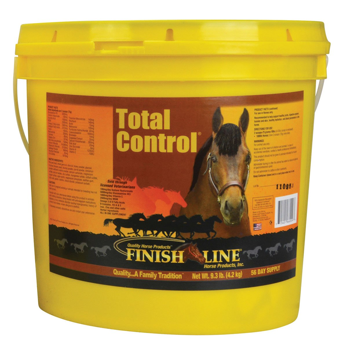 Finish Line Horse Products Total Control (9.3-Pounds)