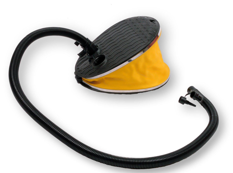 Large Advanced Elements Bellows Foot Pump Yellow//Black