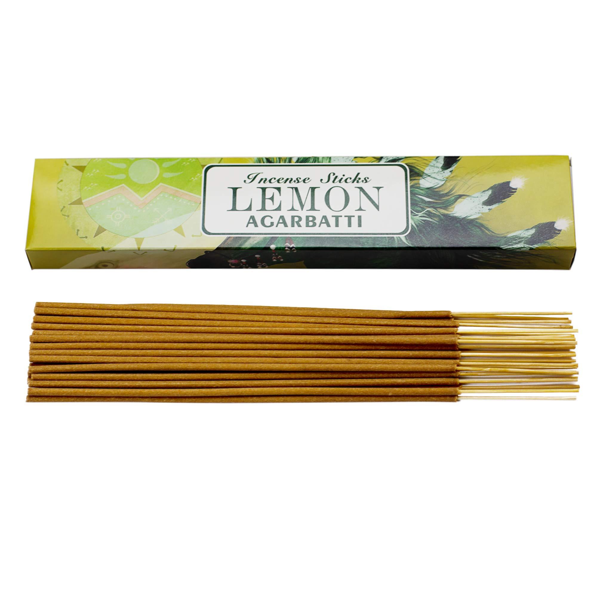 Mosfantal Premium Hand Dipped Incense Sticks - Lemon, Jasmine, Lavender, Vanilla, Apple, Variety Gift Pack (240Gram) by Mosfantal (Image #4)