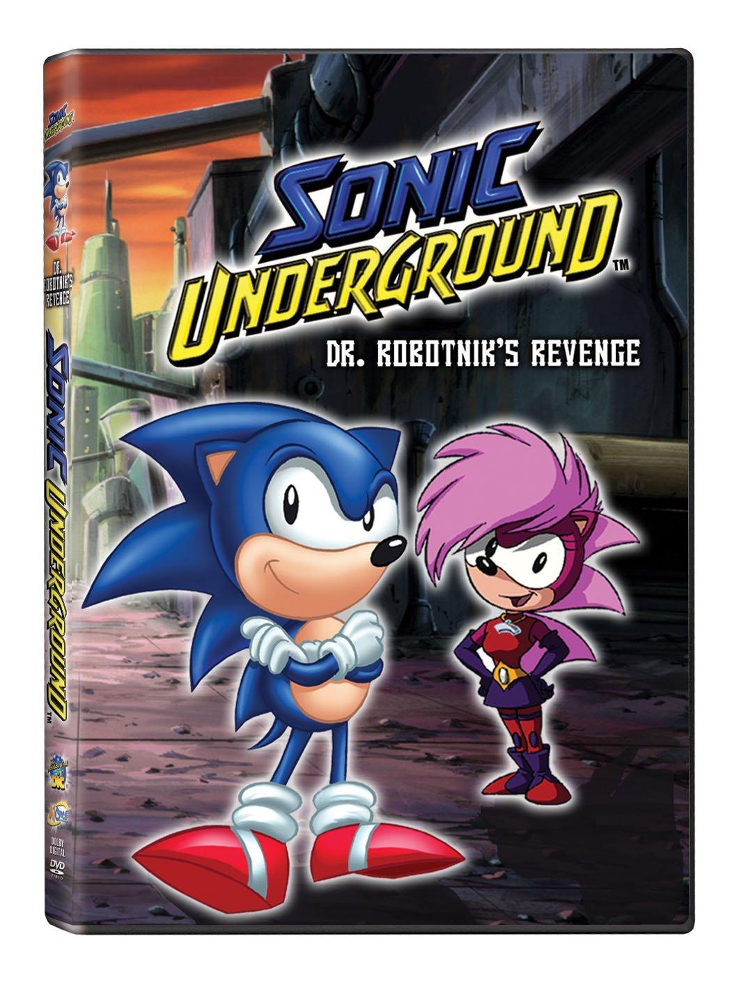 Amazon Com Sonic Underground Dr Robotnik S Revenge Sonic Underground Dr Robotnicks Revenge Movies Tv