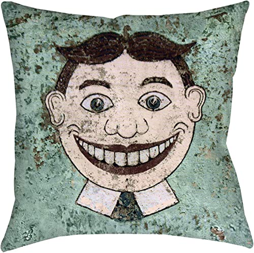 Dwelling in Fantasy Asbury Park Tillie Throw Pillow 18 inches