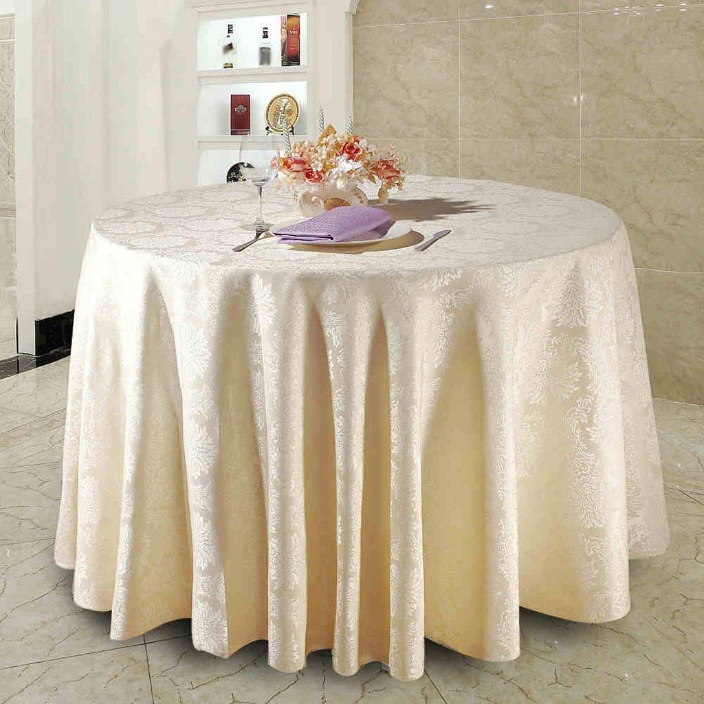 Restaurant Hotel Clubhaus Esstisch Tuch Treffen Hochzeit Bankett Aktivitäten Platz Chemische Faser Größe Optional ( größe : Round-220cm )