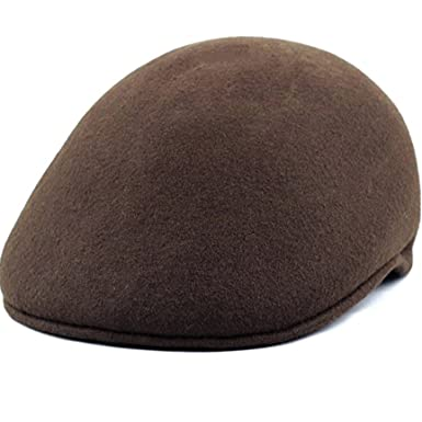 12ebff17d9842 100% Wool Felt Ascot Ivy Style Hat at Amazon Men s Clothing store