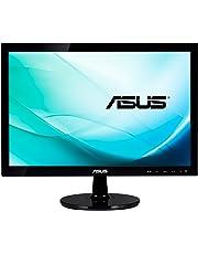 """Asus VS197DE Monitor da 18.5""""/47.0 cm, Widescreen, 16:9, WLED/TN, 1366x768, VGA, 200 cd/mq, Nero/Antracite"""