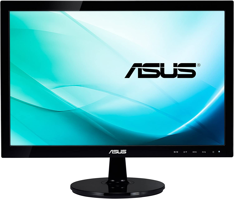 "ASUS VS9DE 9.9"" Black computer monitor"