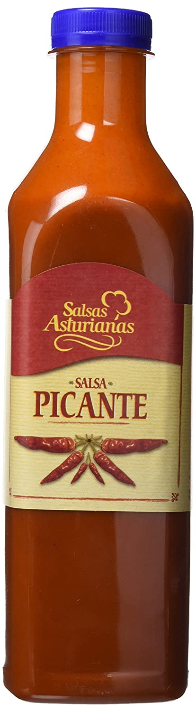 Salsas Asturianas Salsa Picante - 1000 gr - [Pack de 3]: Amazon.es: Alimentación y bebidas